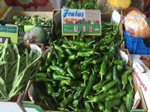 Pimentos de Padron at the Market © James Kullander